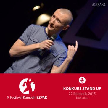 konkurs stand-up – 9. SZPAK